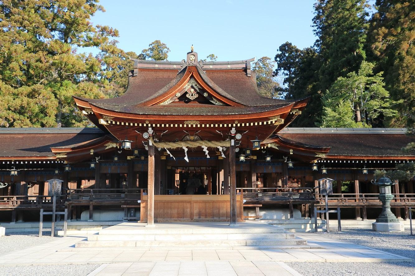 20180201トピックス (多賀大社 神殿)