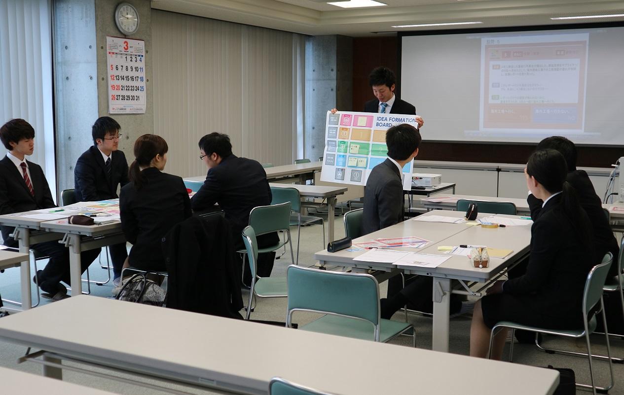 20170321トッピックス(採用)内定者懇親会②