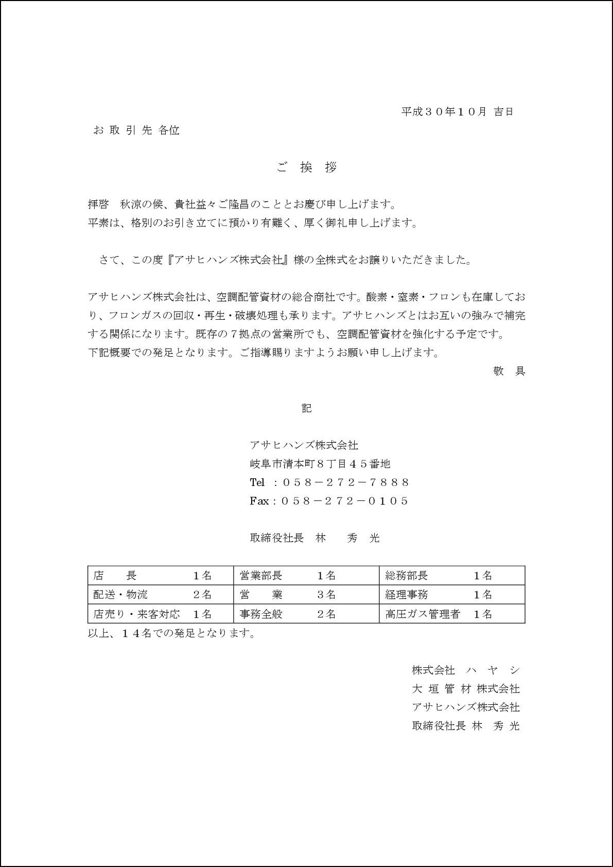 20180925 asahihanzu_aisatuzyou